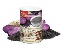 紫山藥黑米仁